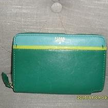 New Tessa Zip Multi Green Wallet Photo