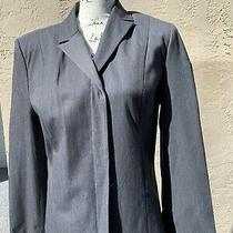 New the Limited Womens Blazer Large Jacket Coat Suit Grey New With Tags Large Photo