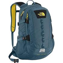 New the North Face Hot Shot Backpack (Diesel Blue/acid Yellow) Photo