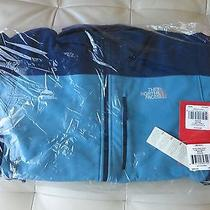 New the North Face Men's Softshell Apex Bionic Jacket L Storm Blue / Cosmic Blue Photo