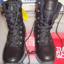 New the North Face Mens Chilkat Leather Insulated Tall Winter Boots 140 Black 9 Photo