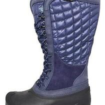 New the North Face Thermoball Utility Purple Quilted Winter Snow/rain Boots Sz 9 Photo