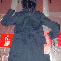 New the North Face Womens Apex Sashanna Softshell Jacket 230 Navy Hoodie Coat Photo