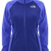 New the North Face Womens Mindy Fleece Jacket Bolt Blue Size Xs Nwt Photo