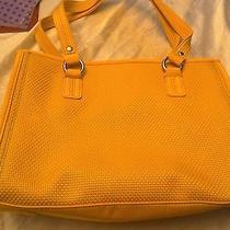 New the Sak Medium Yellow Tote. Item 1168 Photo