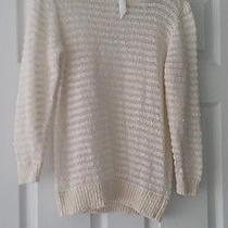 New Theory Off White sweater.szm.rt180 Photo