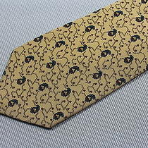 New Tie Yves Saint Laurent Made in Italy Silk Photo