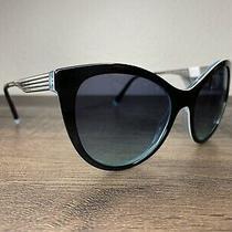 New Tiffany & Co. Sunglasses Tf4159 82749s 55 Black Blue Gradient Authentic 4159 Photo