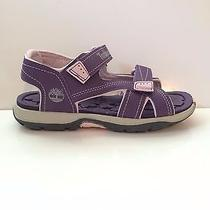 New Timberland Girl's Mad River 3872r Purple Shoes Size 1 Photo