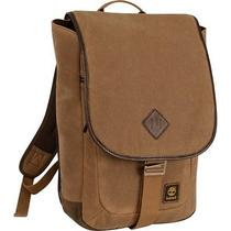 New Timberland Luggage Mt. Madison 17 Inch Backpack Messenger Tan/brown One Si Photo