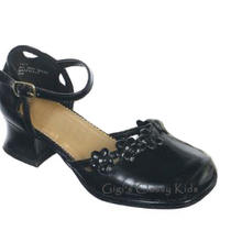 New Toddler Girls Black Dress Shoes Size 5 Wedding Pageant Party Fancy Photo
