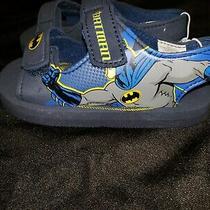 New Toddler Little Boys Batman Lightweight Sandals Shoes Sz 9/10 Photo