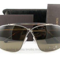 New Tom Ford Sunglasses Tf194 Felix Gold Aviator 28j Authentic Ft0194/s Photo
