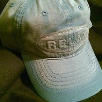 New Tommy Bahama Men's Prorelax Fishing Hat Golf/baseball Cap(blue)cotton/adj. Photo