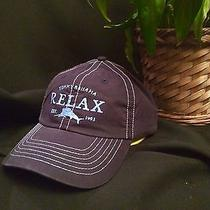 New Tommy Bahama Men's Relaxer Fishing Hat Golf/baseball Cap((blue)nylon/blend Photo
