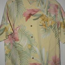 New Tommy Bahama Moon Over Laguna Silk Camp Shirt Xxl Nwt Photo