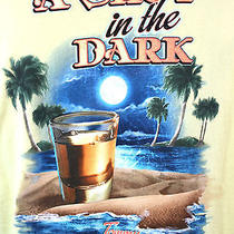 New Tommy Bahama Yellow a Shot in the Dark 100% Cotton Relaxed T-Shirt Sz Large Photo