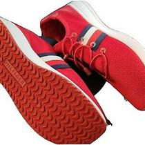 New Tommy Hilfiger Red White Blue Usa Womens Shoes Sneakers 10m Twrhena Photo