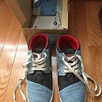 New  Toms Youth Botas Size 4 New Photo