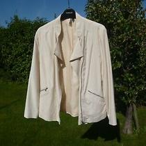 New Topshop Powder Beige Jacket Size 12 Photo