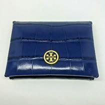 New Tory Burch Parker Embossed Card Case Photo