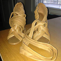 New Tory Burch Tan Sandals Size 7 Photo