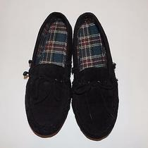 New Totes Elements Mens Suede Boater Indoor Outdoor Sole Size Us 13-14 Xxl Photo
