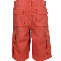 New True Religion Jeans Men Sz36 Issac Big T Cargo Short Overdye Coral 168.  Photo