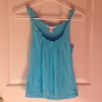 New Turquoise Summer Fashion Tank Top  Size Medium  Photo