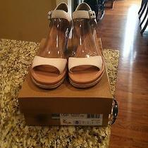 New Ugg Atasha Creme Shoes Size 8 Photo