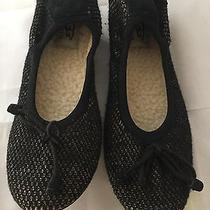 New Ugg Australia Brig Slippers Black Knit Women Size 5  100    Photo