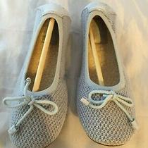 New Ugg Australia Brig Slippers Light Blue Knit Women Size 5  100    Photo