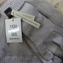 New Ugg Australia Smart Glove & Hat Set Sand Medium 12099 Free Shipping Photo