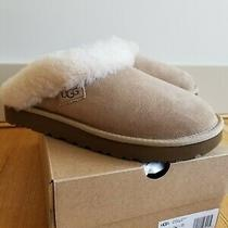 New Ugg Australia Womens Cluggette Slippers Sand  Size 9 Photo