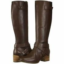 New Ugg Bandara Womens Brown Leather Tall Knee High Riding Boots Size Us 8 Photo