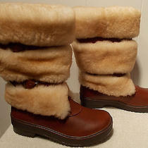 New Ugg Boots Lilyan Mahogany Brown Women's Size 5 Photo