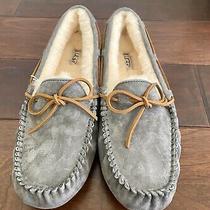 New Ugg Dakota Moccasin Indoor/outdoor Slippers 5612 Pewter Grey - Womens 12 Photo