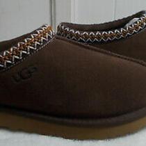 New Ugg Slippers Tasman Chocolate Brown Men's Size 10 Photo