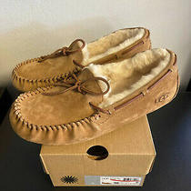 New Ugg Women's Dakota Slipper in Chestnut- Size 10 Photo