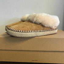 New Ugg Women's Wrin Suede Slipper in Chestnut- Size 5 Photo
