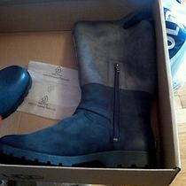 New Ugg Womens Boots Deleane Black Water Resistant 11 Photo