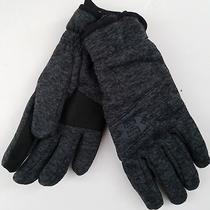 New Under Armour Kids Ua Coldgear Infrared Elements Fleece Gloves M Grey Msrp35 Photo