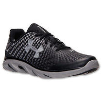 New Under Armour Mens Ua Spine Clutch Running Shoes 10 Black 1255151-001 99 Photo