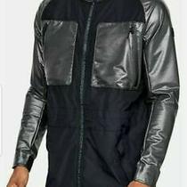New   Under Armour Ua Perpetual Print  Storm  Hood Jacket Mens Sz S Photo