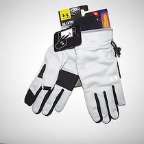 New Under Armour Womens Extreme Coldgear Elements Fleece Touch Screen Gloves S Photo