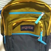 New Unique Jansport Colorblock Backpack T58yzr4 Huge Multiple Pockets Rare Photo
