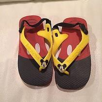 New Unisex Infant Toddler Havianas Mickey Mouse Sandals 7 Photo