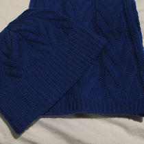 New Unused Cashmere Scarf and Hat by Bloomingdale's Aqua Brand No Tags - Blue Photo