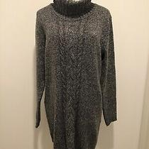 New Unworn Avon Turtleneck Gray Tunic Sweater Dress - Womens Size M (8-10) Photo