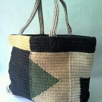 New Urban Outfitters Bdg Wool Sweater Tote Bag/weekender Multicolor Msrp  89 Photo